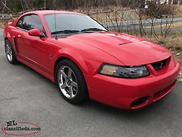 2004 Terminator Cobra Hard to find cars!! $27000.00