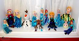 Disney Frozen Dolls, Figures, Plush, etc
