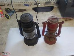 OLD KEROSENE LAMPS