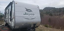 Jayco 32 foot travel trailer