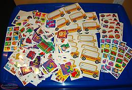 Teacher Student Reward Stickers Huge Lot