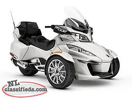 DEMO DEAL - SAVE $8,000 on a 2018 Can-Am Spyder RT Limited - Just 1,100 kms!
