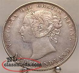 Buying Newfoundland, Canadian and U.S. coins/ banknotes