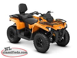 SPRING SAVINGS- SAVE $1,000 + 5 Yr. Warranty on a NEW '19 Outlander MAX DPS 450!