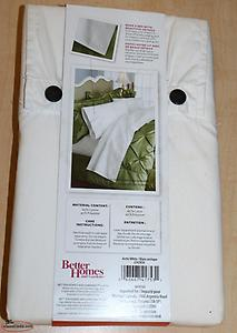 Better Homes and Gardens 2 King Size Pillowcases NEW