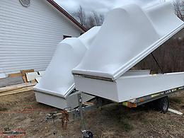 Fibreglass Snowmobile Enclosure