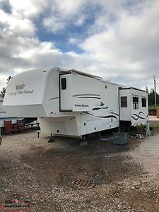 King of the Road 5th wheel camper trailer Sold