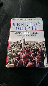 THE KENNEDY DETAIL - Book For Sale