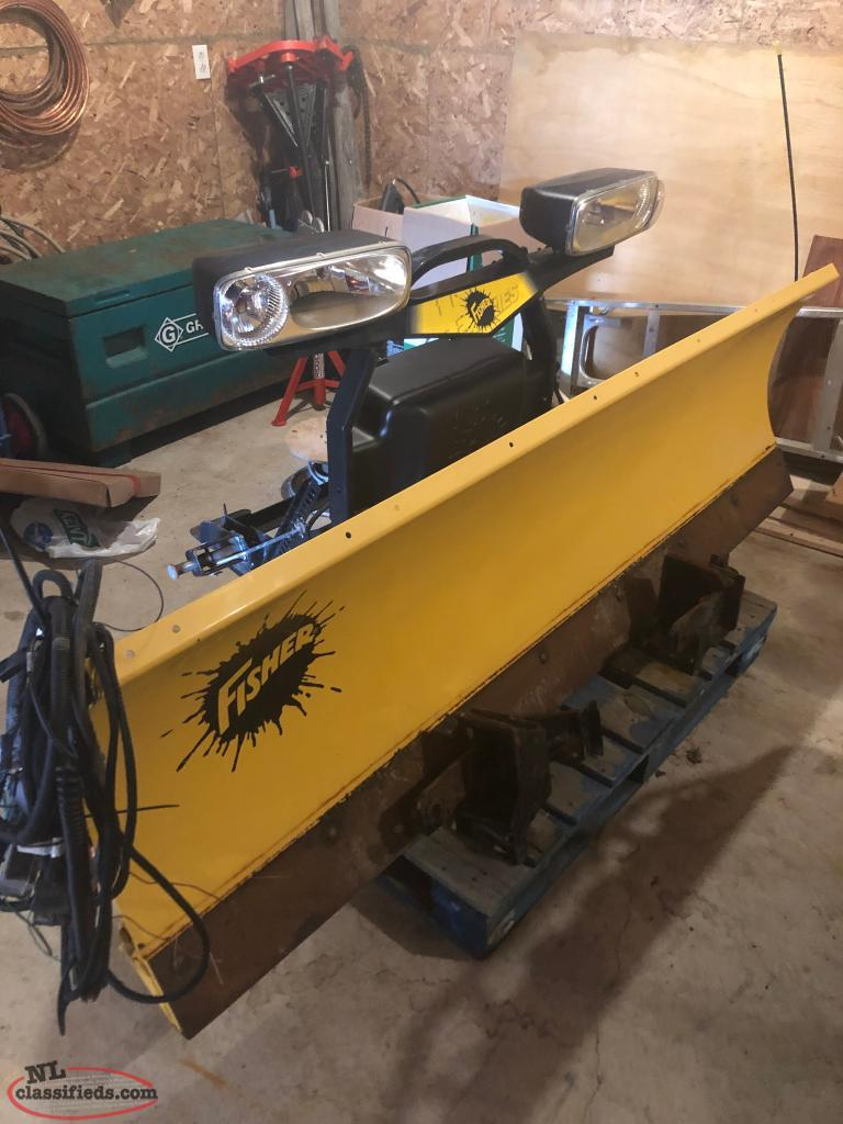 2015 Fisher HT Snow Plow - Witless Bay, Newfoundland ...