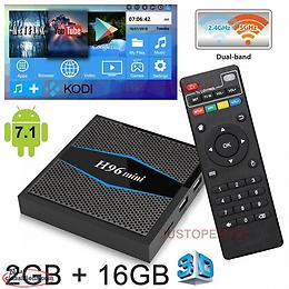 H96 mini Android box and wireless keyboard