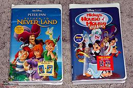 Disney VHS Tapes ( New, Sealed ) Lot of 2