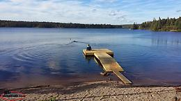 1.9 Acre Waterfront Cottage Lot For Sale on Thorburn Lake