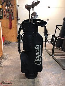 Lady's Left Handed Golf Clubs & Bag