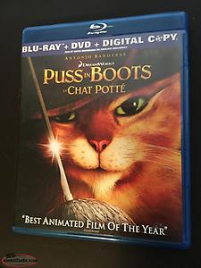 Puss In Boots | Blu-Ray and DVD