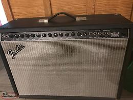 Vintage guitar and Amplifier