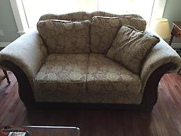 Couch & love seat for sale