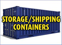 40 Foot Storage/Shipping Containers