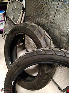 2 Michelin Anakee enduro tires