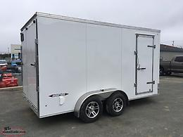 7 x 14 Enclosed Aluminum Trailer
