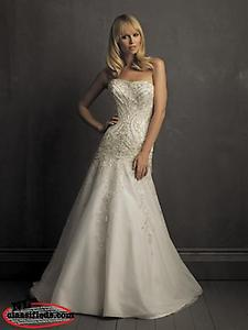 Wedding Gown, Size 8