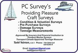 Pleasure Craft Surveys