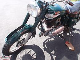 1955 royal enfield bullet motorcycle