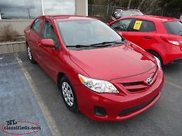 2013 Toyota Corolla CE Auto low KM solid car - nlcarshop.com