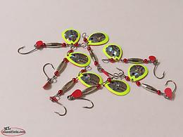 RCS Tackle Co. New Weighted Colorado Blade Spinners