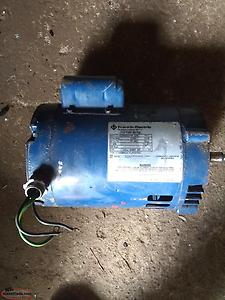 TWO motors 3/4 HP and 1/3 HP