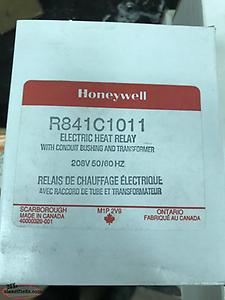 Honeywell electric heat relay