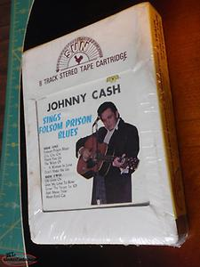 vintage johnny cash 8 track