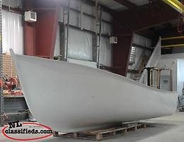 Fiberglass Boat -Sea Husky 12' Pond Boat & 21' Boat Completed & Shell Options