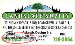 Landscape supply - Topsoil, Gravel, Mulch and more!