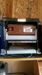 "Benchmark 10"" Electric Planer - SOLD"