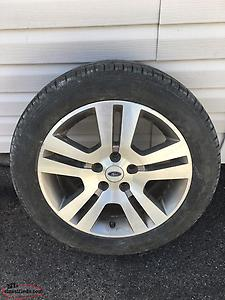 Ford Fusion Rims And Tires 225/50/17