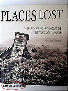 Places Lost - In Search of Newfoundland's Resettled Communities LARGE BOOK