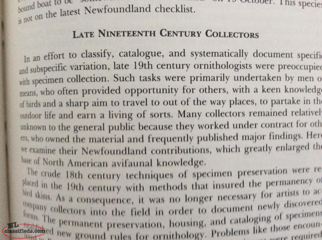 Montevecchi & Tulk, Newfoundland Birds