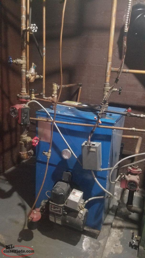 hot water radiation oil furnace