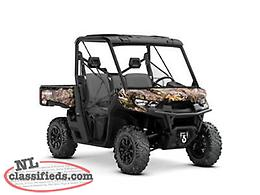 F 'N' F Deal - SAVE $2,300 on a NEW 2019 Defender XT HD8!