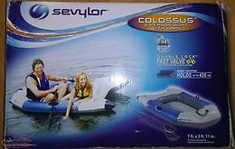 2 person inflatable boat new in box