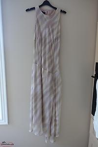 Shimmering Silk Dress by Paul Costello, Size 4