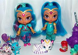 Shimmer & Shine Dolls, Figures, Genies, etc NIce Variety Clean Lot