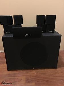 Surround sound Speakers and Sub-woofer