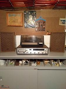 Sears Stereo Receiver & Phonograph