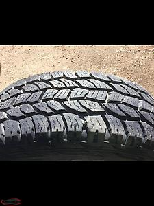 Tires 235/75-r15 and 225/75-r15 Mud and Snow tire and 4 Rims