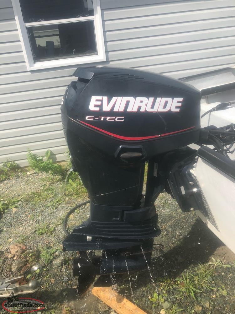60 HP Evinrude (pending Sale) - Portugal Cove, Newfoundland