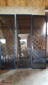 3 Glass doors for sale