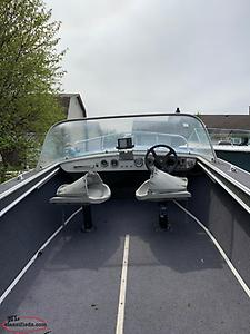 16ft Aluminum Boat & Trailer