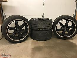 Nissan GTR Black Edition Wheels Tires