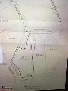 Land for sale. Prison camp road area